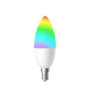 WOOX ÄLYLAMPPU WIFI-OHJATTAVA LED RGBW E14 4.5W