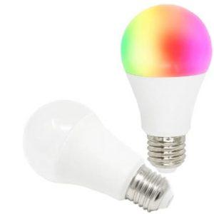 ÄLYLAMPPU WIFI-OHJATTAVA LED RGBW E27 8W